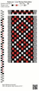 Bedouin pattern on raktres.net/seizenn