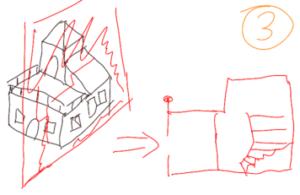 TAK4D - 4D maze - 3D house cut 1