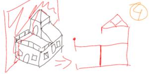 TAK4D - 4D maze - 3D house cut 2