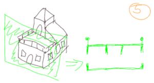 TAK4D - 4D maze - 3D house cut 3