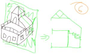 TAK4D - 4D maze - 3D house cut 4