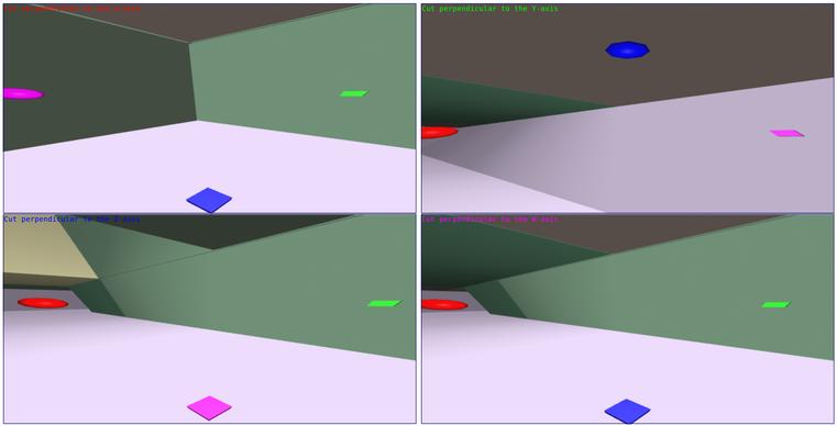 TAK4D - 4D maze - app view