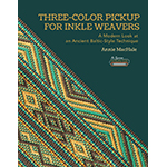 Annie MacHale three-color pickup for inkle weavers