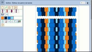 Band pattern editor